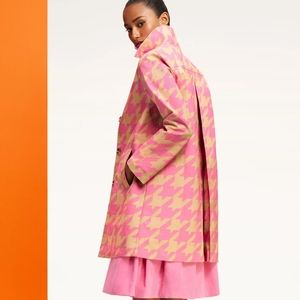 Isaac Mizrahi for target Pink tant Trench coat